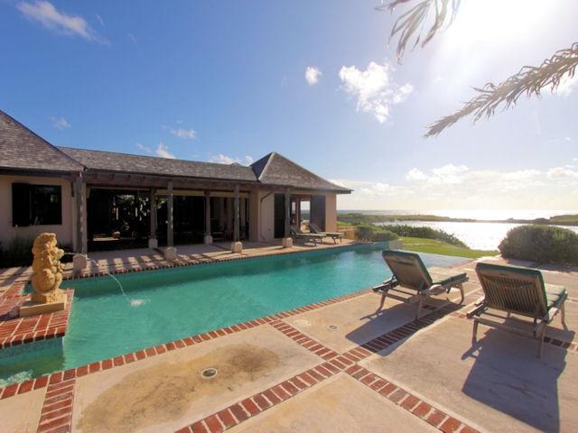 Villa Kulala, private water front villa - Image 1 - Long Bay - rentals