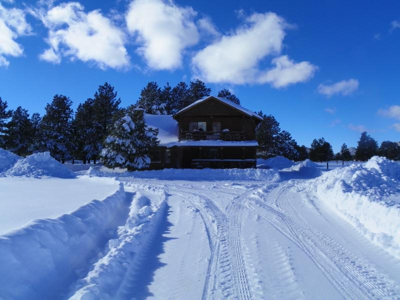 Winter scene - Great summer getaway! The Kirby Ranch - Parks - rentals