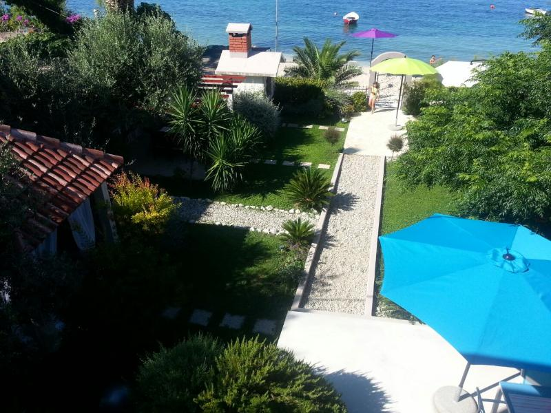 Beach & garden exclusive  Villa Maris near Split  - offer  romantic and relaxing seaside holiday! - Image 1 - Split - rentals