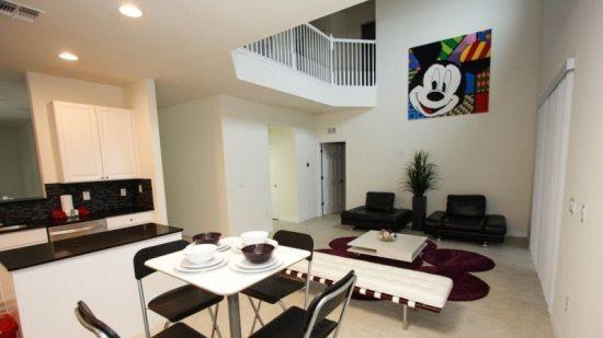 Modern And Themed 6 Bedroom 4.5 Bathroom Home In Veranda Palms. 2517DC - Image 1 - Orlando - rentals