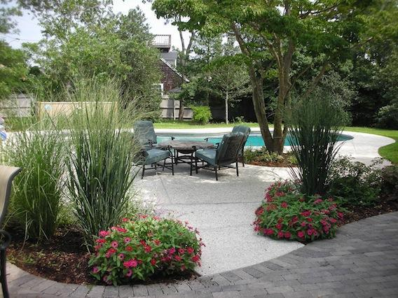 Back Gardens, pool and patio - 16 Studley Road Hyannis Cape Cod - Hyannis - rentals