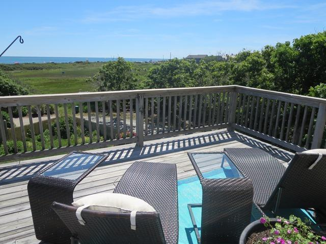 Panoramic Ocean views from the large deck! - 19 Bob White Lane South Harwich Cape Cod - South Harwich - rentals