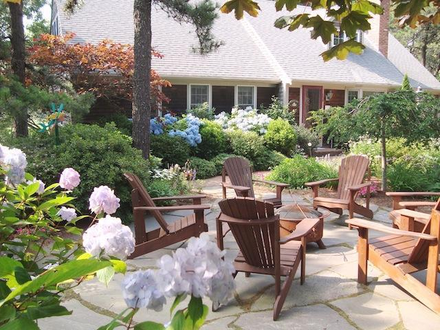 Patio with Firepit - 138 Soundview Avenue Chatham Cape Cod - Chatham - rentals