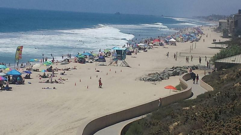 Miles of white sandy beaches only steps away - Ocean view Condo just steps from the beach - Carlsbad - rentals