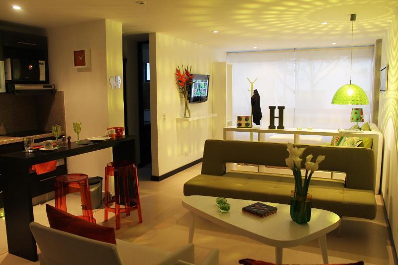 Living Area - Designer Studio @Chapinero - Bogota - rentals