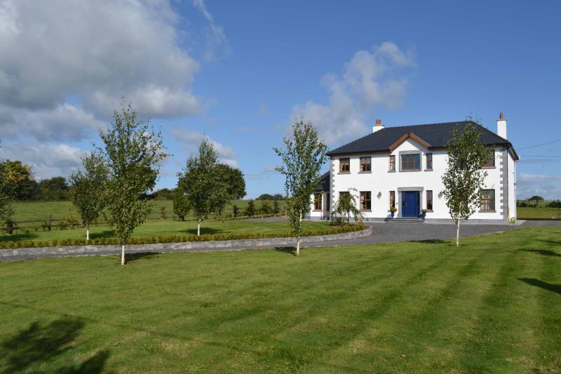 Luscious laws leading to Fanningstown House - Stunning modern five bedroomed house sleeps 10 - Adare - rentals