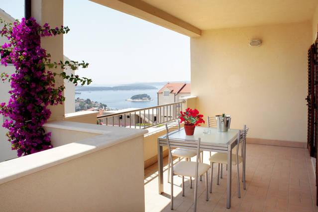 Luxury Apartment In Villa , Hvar Town, With Sea View For 6 P - Image 1 - Hvar - rentals
