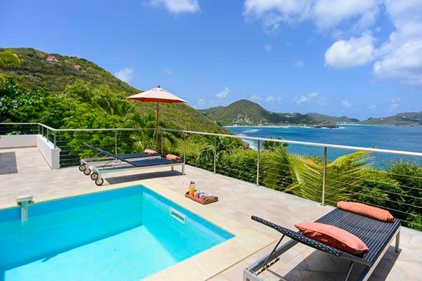 Charming villa offering splendid sunset views over the ocean WV LOA - Image 1 - Pointe Milou - rentals