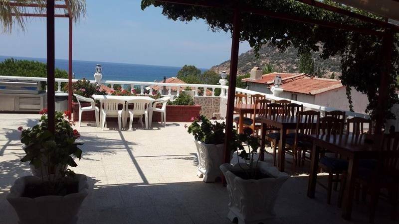View of Terrace - Ege Boutique Motel - Denizkoy - rentals