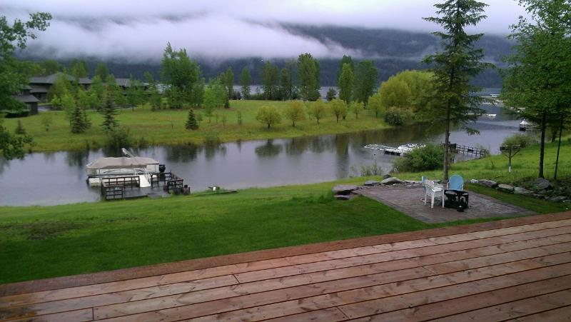 View from Master bedroom - Tranquility Whitefish Lake property - Whitefish - rentals