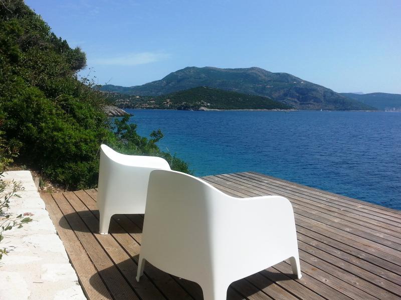 AAA - privat waterfront Villa with magical views - Image 1 - Vasiliki - rentals