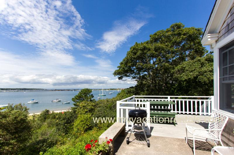 Patio and Deck with Spectacular Views - KLEIB - Lagoon Waterfront and Beachfront, Spectacular Waterviews,  Room A/C,  WIFI - Oak Bluffs - rentals