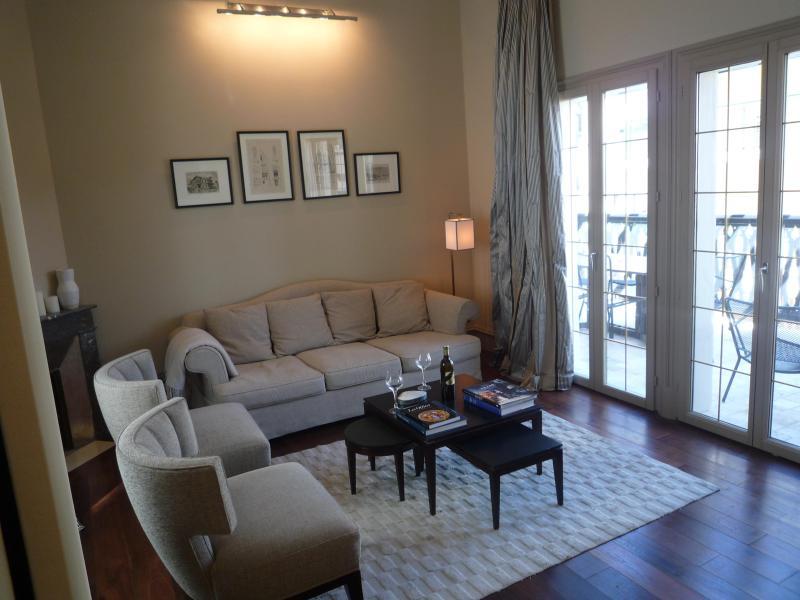 Séjour donnant sur la terrasse - Villa - Maison Centre ville Arcachon - Arcachon - rentals