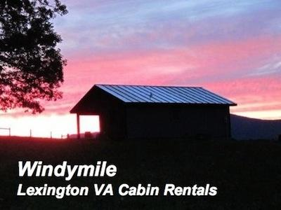 A Sunset at this Lexington VA Cabin rental is Jaw Dropping! Call today! - Windymile Cabin for rent near Lexington VA - Lexington - rentals
