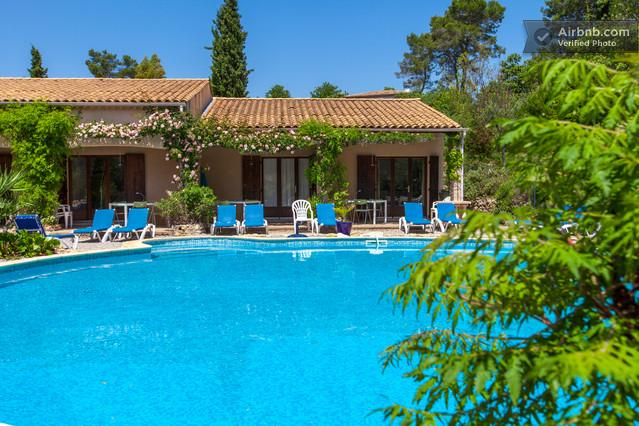 La Cigale - heated pool - Wonderful 2 Bedroom Vacation Home in Les Arcs sur Argens, Provence - Les Arcs sur Argens - rentals