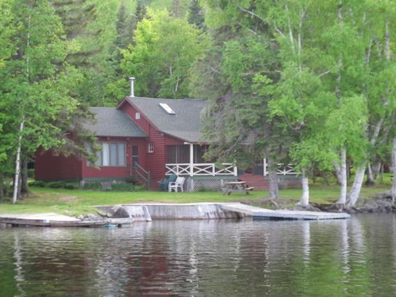 View of outside from Lake - Blake - Rangeley - rentals