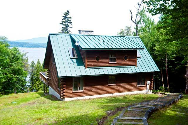 Exterior - Connaughton - Rangeley - rentals
