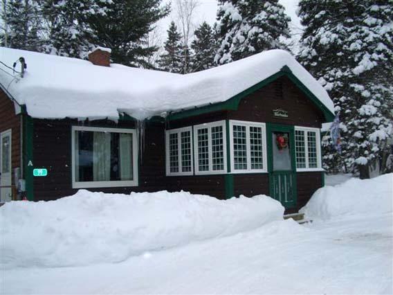 Home in winter - Rangeley Manor A-99 - Rangeley - rentals