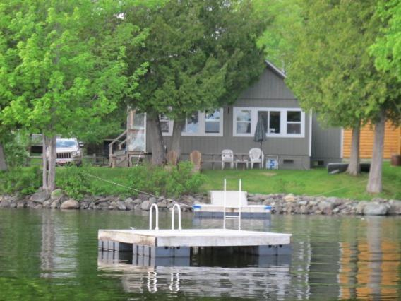 View of outside from Lake - King on Rangeley Lake - Rangeley - rentals
