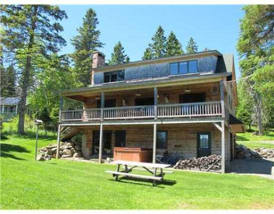 Lakeside picture - Kuzio - Rangeley - rentals