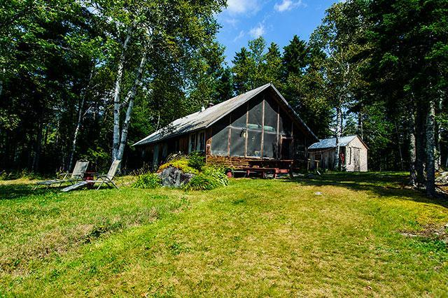 Exterior - 585 Moose Lodge - Rangeley - rentals