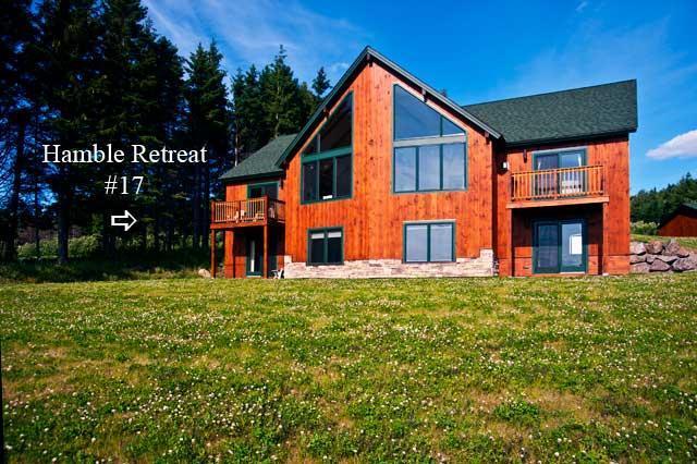 Exterior view - Lodges #17 - Hamble Retreat - Rangeley - rentals