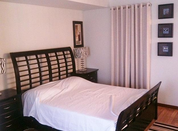 Master's Bedroom - Fully Furnished Apartment for Rent in Makati City - Makati - rentals