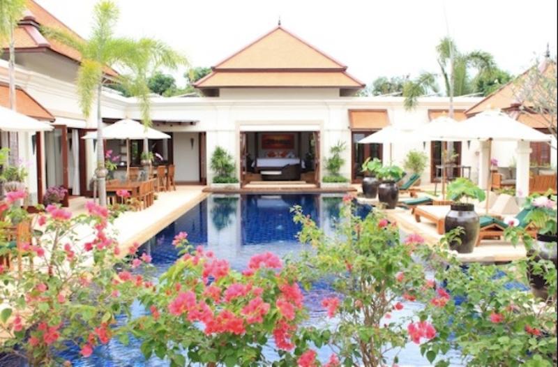 The Front View - Sai Taan Villa888, Phuket Thailand - Cherngtalay - rentals