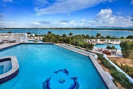 Mystique - Largest villa on island, with 3 pools, gym & 2 minute golf cart ride to beach - Image 1 - Anguilla - rentals