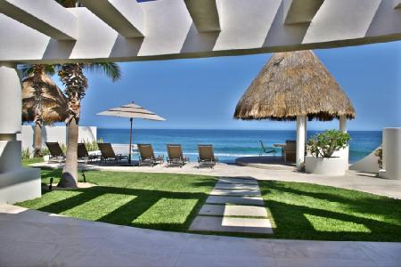 Oceanfront Villa Serena with private beach access, infinity pool- jacuzzi - Image 1 - Cabo San Lucas - rentals