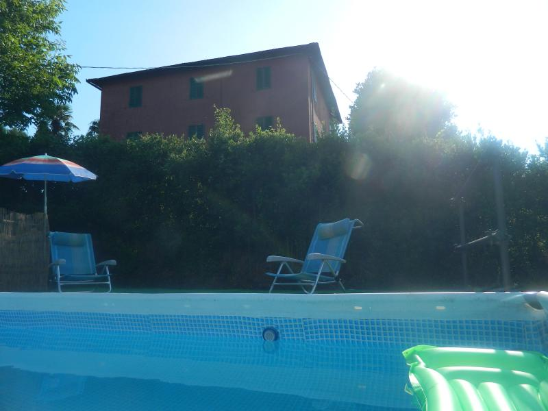 Villa of the 19th-century farmhouse style, panoramic view, private pool - Image 1 - Pescia - rentals