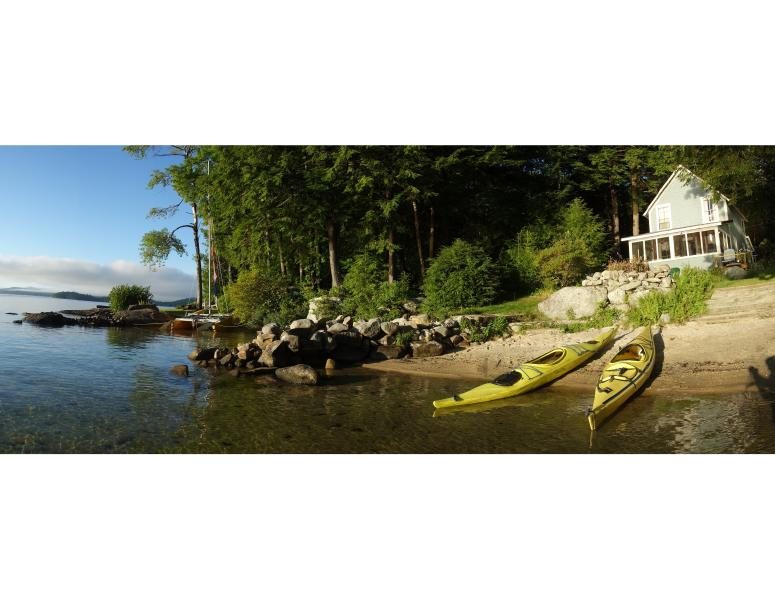 Morning Light on the beach - 2 BR Vintage Cottage Newfound Lake - Private Beach - Hebron - rentals