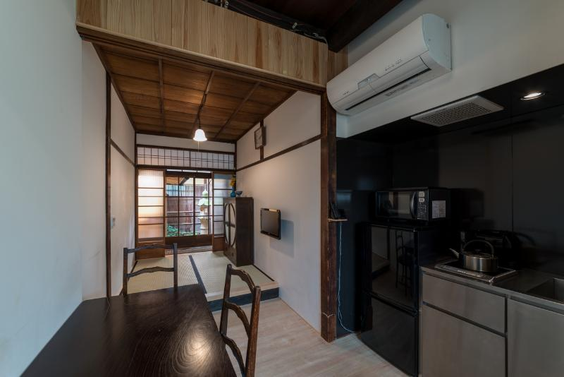 Dining kitchen, tatami space and