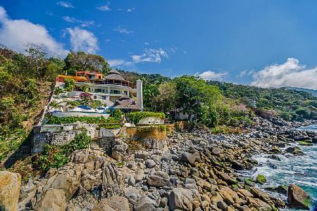 Ideal for Weddings and Special Events, Four Generous Terraces - Villa Mia - Image 1 - Mismaloya - rentals