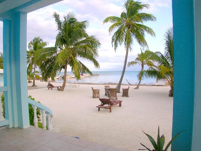 View of your private beach from your porch! - 3 bedroom condo on your own private beach! -B1 - San Pedro - rentals