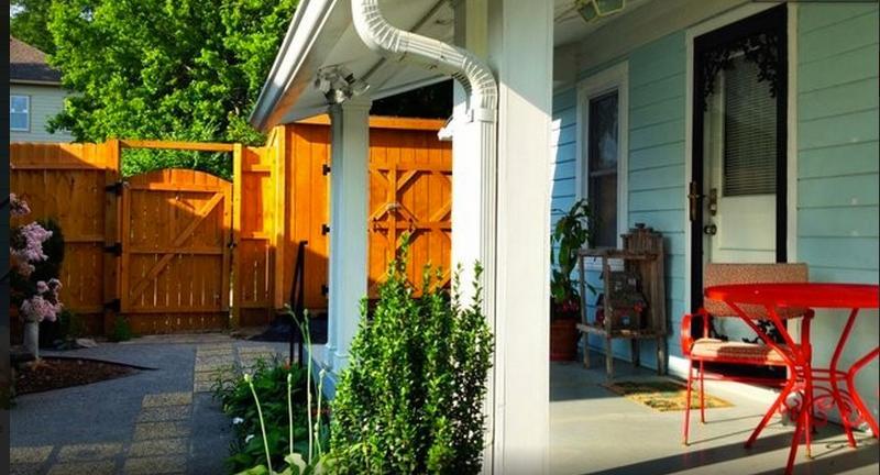 Private Courtyard Entrance - Private East Nashville Cozy Cottage - Nashville - rentals