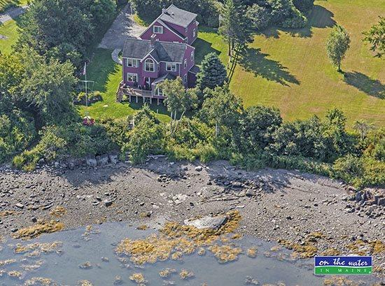 From the air - August 2014 - WATERS EDGE - Town of Owls Head - Owls Head - rentals