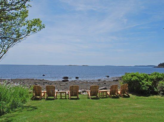 The beautiful waterfront property Candys Cove Cottage - CANDYS COVE COTTAGE - Town of St George - Port Clyde - rentals