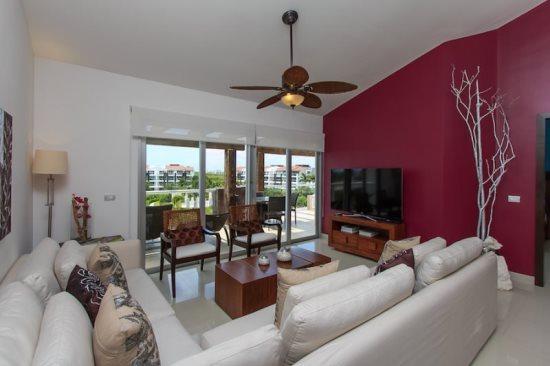 Mareazul Estrella de Mar - Living area - Vacation rentals Playa del Carmen - Mareazul PH Estrella de Mar - Playa del Carmen - rentals