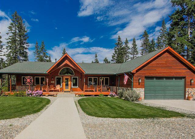 Welcome to Aspen Lodge - Aspen Lodge!  Newer Cabin on 5 Acres! 6BR / 3.5BA, Sleeps 16, Hot Tub! - Cle Elum - rentals