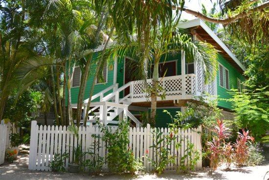 Monkey Lala beach house nestled among palms just steps from the beach - Monkey La La Upper - West Bay - rentals