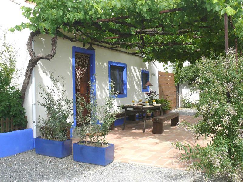 Facade and terrace - Cortijo Algabia, very close to Granada - Alhendin - rentals