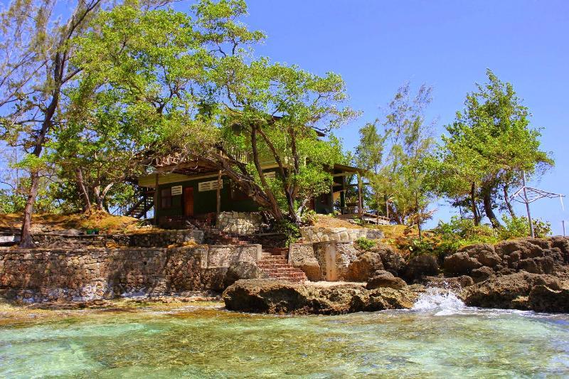 villa from sea view - Love Nest & Sunrise Magic Jamaican beach villa - Port Maria - rentals