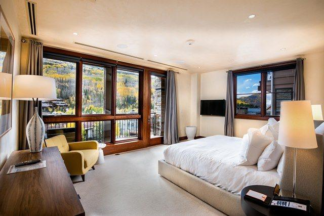 Second Bedroom with a Mountain View - Solaris is a community of luxury condominiums and residences in the heart of Vail Village. - Vail - rentals