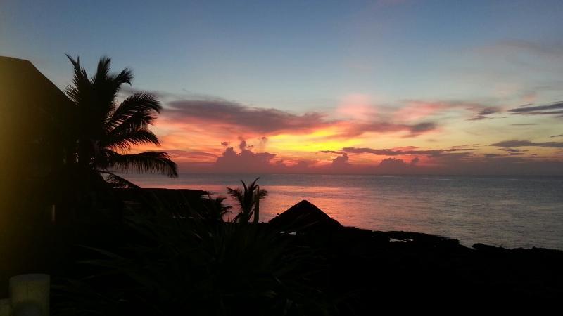 Could life get any better?? - Ocean Front in Quiet Cul de Sac- Promo Discount - Puerto Aventuras - rentals