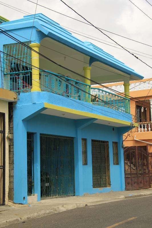 Casa Azul vista del patio - Casa Azul - Puerto Plata - rentals