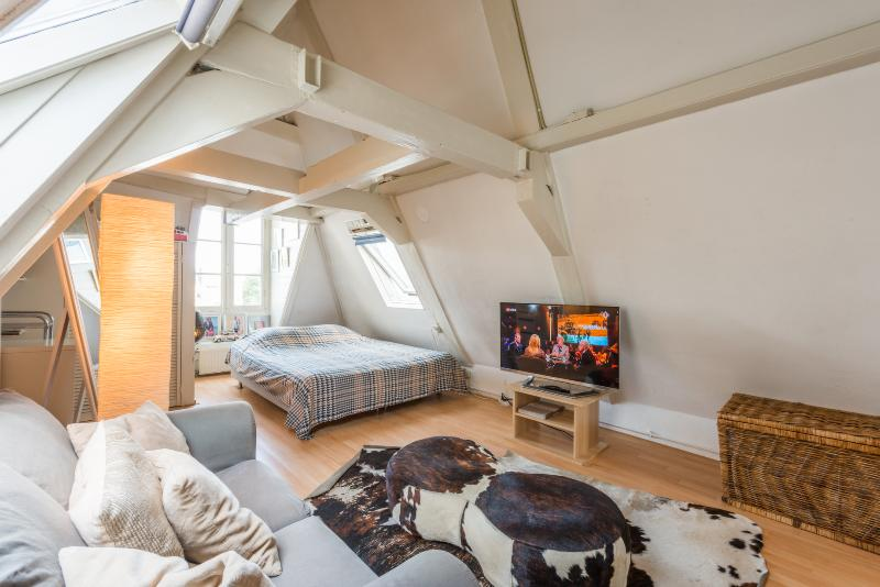 Rembrandt square Canal Loft with terrace (central) - Image 1 - Amsterdam - rentals