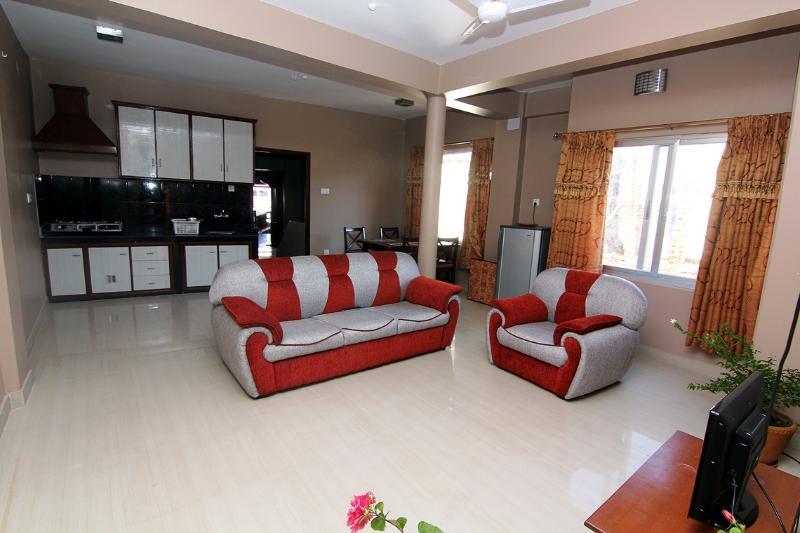 main living room - Apart on main street lakeside - Pokhara - rentals
