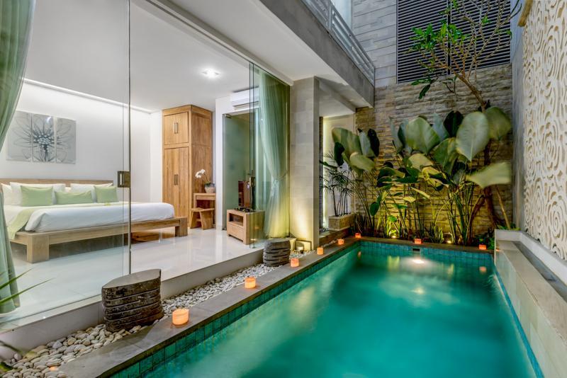 NIKAYA - SMART, CONTEMPORARY 2 BED POOL VILLAS - Image 1 - Legian - rentals