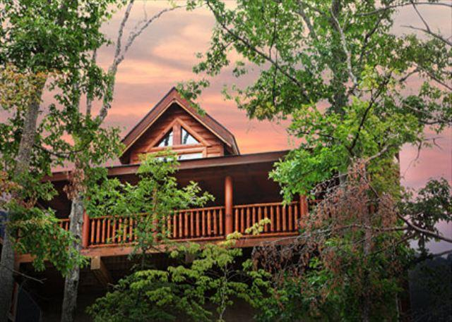 Rustic Cabin With Majestic Mtn. Views, Deck, Game Room, Jacuzzi, Amenities - Image 1 - Sevierville - rentals